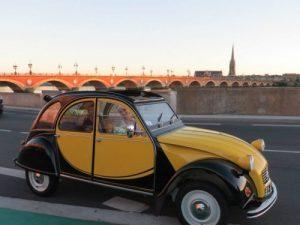 Une visite de Bordeaux hors du temps en Deudeuche !