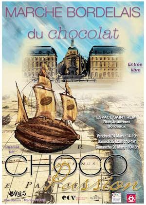 Marché bordelais du chocolat, Bordeaux, sorties, Les Pépites Girondines