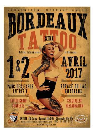 Salon du tatouage, Bordeaux, Gironde, Les Pépites Girondines