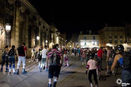 La nuit du roller, Bordeaux, Gironde, Les Pépites Girondines