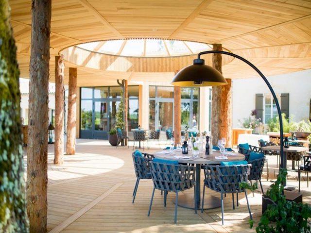 Les Pépites Girondines, 5 restaurants dans les vignes, la table de Caillivet