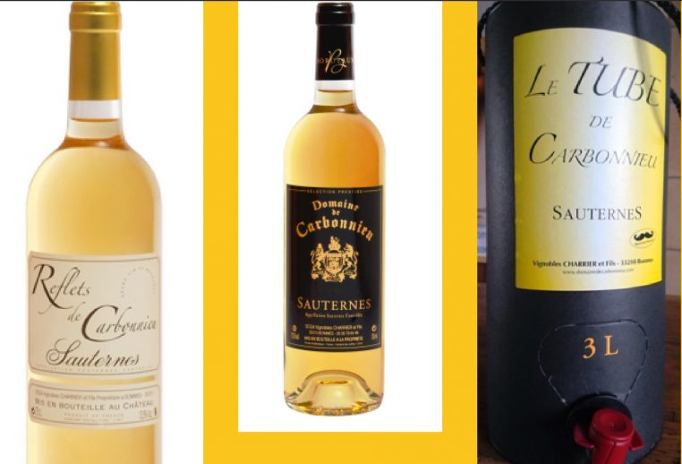 Les Pépites Girondines - Sauternes - Domaine de Carbonnieu