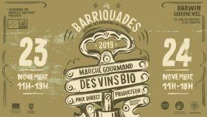 Les Barriquades c'est ce week-end !